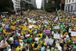 Proteste 15 de março - São Paulo - SP