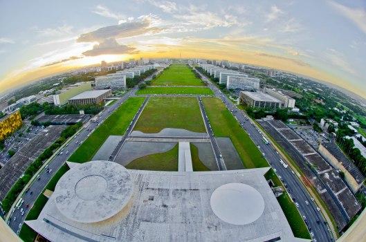 Foto: Esplanada dos Ministérios Vista do Congresso Nacional - Ana Volpe/ Senado
