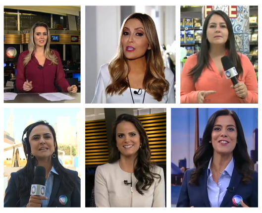 Apresentadoras Fala Brasil/ Rede Record: Reprodução